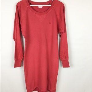 Lacoste Dress Red Knit Size 34 XS